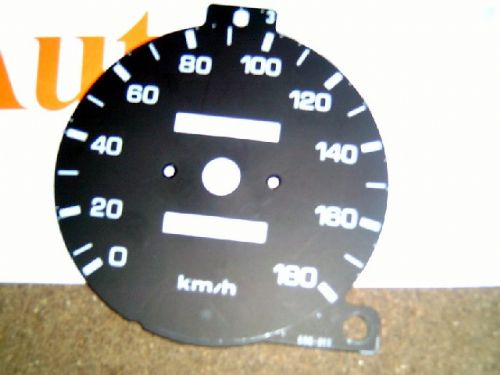Speedo face, 180 kmh, MX-5, Eunos Roadster mk1, USED